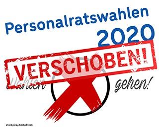 Personalratswahlen 2020 verschoben